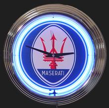 Maserati Neon Clock