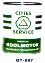 City Services Premium Motor Oil Cans - Quantity Of Six Cans