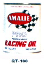 Amalie Pro Racing Motor Oil Cans - Quantity Of Six Cans
