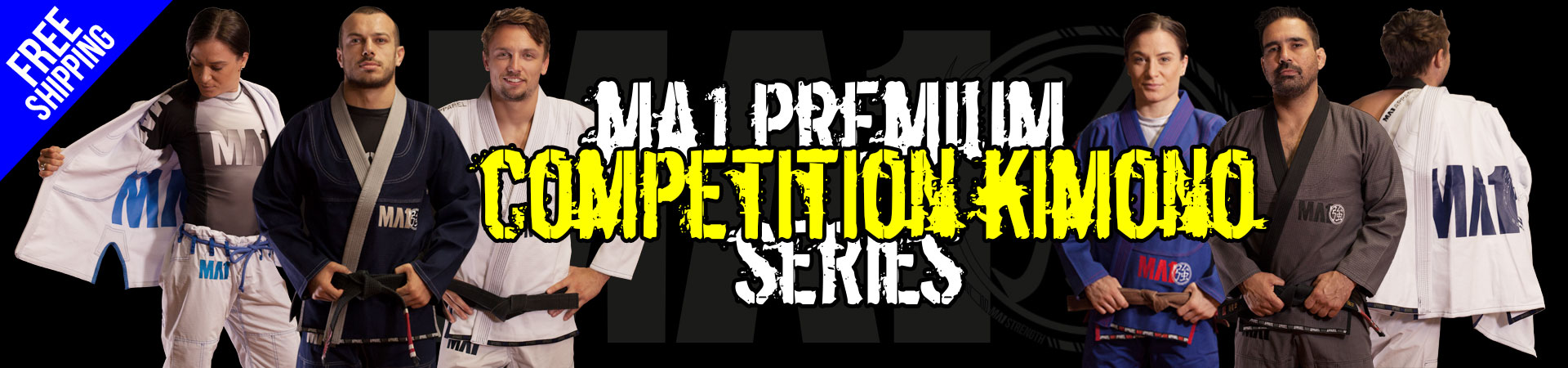 MA1 Premium Competition Kimono Series