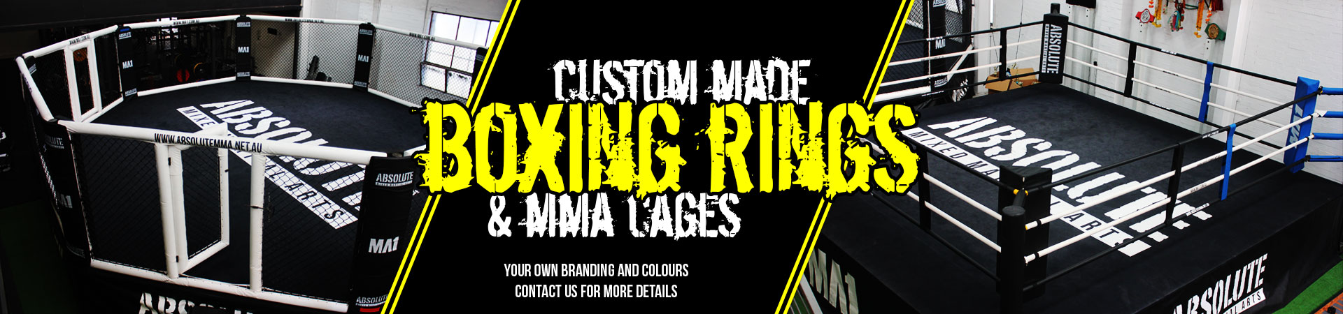 MA1 Custom Boxing Rings & MMA Cages