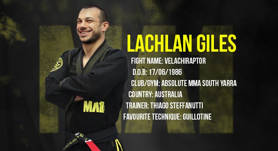 Lachlan Giles | Velachiraptor | Absolute MMA South Yarra | MA1 | Athlete | Brazilian Jiu Jitsu