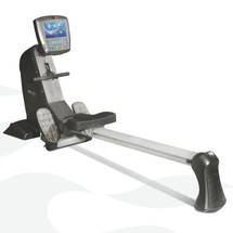 Commercial Seated Rowing Machine with TV