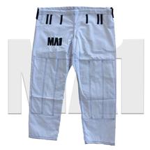 MA1 Premium Comp Kimono Pants - White, Blue & Grey - Pants