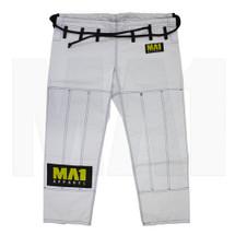 MA1 Ultra Light Kimono Pants  -  White (Contrast Stitching)