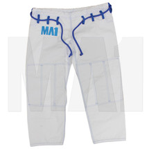 MA1 Female Premium Comp kimono Pants - White, Blue & Grey