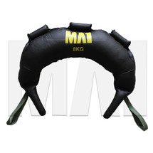 MA1 Bulgarian Training Bag - 8kg, Green Straps