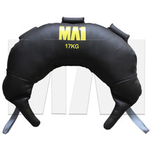 MA1 Leather Bulgarian Bag - 17kg, Grey Straps
