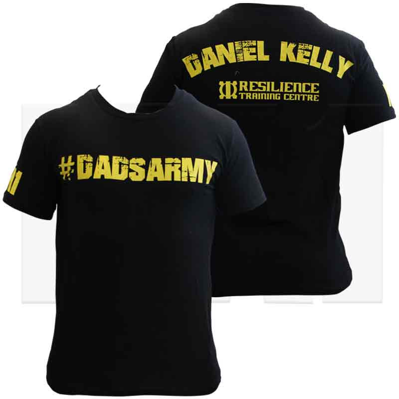"MA1 Dan Kelly ""#DadsArmy"" Cotton Tees."