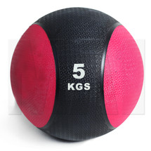 5kg Rubber Medicine Ball - Red
