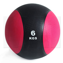 6kg Rubber Medicine Ball - Red