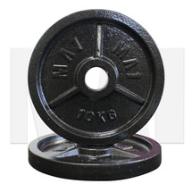 MA1 Olympic Cast Iron Plate (Pair) - 10kg