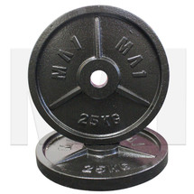 MA1 Olympic Cast Iron Plate (Pair) - 25kg