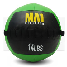 14lb Crossfit Wall Ball - Green