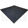 Plain Black Rubber Flooring Angle