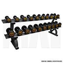 MA1 Elite Dumbbell Rack - 2 Tier 10 pairs saddle rack_Demo
