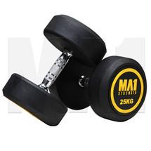 MA1 Commercial Rubber Dumbbells - 25kg