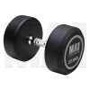 MA1 Commercial Rubber Dumbbells - 27.5kg [Grey]