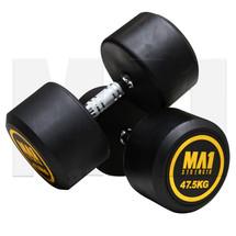 MA1 Commercial Rubber Dumbbells - 47.5kg