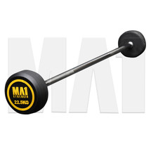 MA1 Fixed Rubber Barbell 22.5kg (MA-FRBB-22.5)