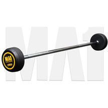 MA1 Fixed Rubber Barbell 25kg (MA-FRBB-25)