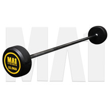 MA1 Fixed Rubber Barbell 32.5kg (MA-FRBB-32.5)