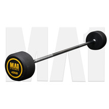 MA1 Fixed Rubber Barbell 45kg (MA-FRBB-45)