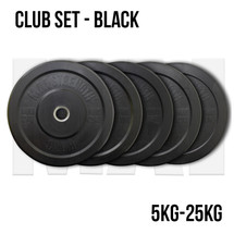 Black Rubber Bumper Plate Package