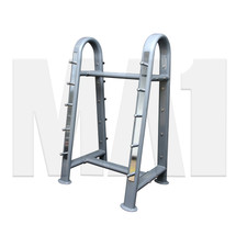 MA1 Deluxe Fixed Barbell Package with Rack