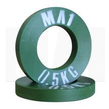 MA1 Olympic Pro Steel Plate 0.5kg