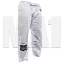 MA1 Rip Stop Kimono Pants - White - Angle