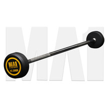 MA1 Fixed Rubber Barbell 17.5kg