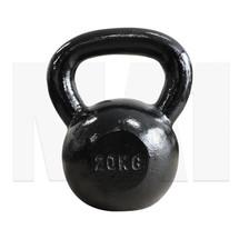 MA1 Black Cast Iron Club Grade Kettlebell 20kg