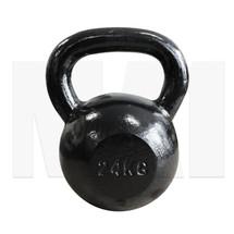 MA1 Black Cast Iron Club Grade Kettlebell 24kg