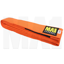MA1 Kids BJJ Kimono Belt - Orange