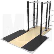 MA1 Athlete Series Power Rack with platform
