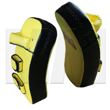 MA1 Club Curved Thai Pads - Yellow