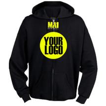 MA1 Warm up Hoodie with Zip - Custom Made