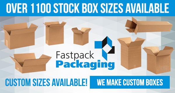 1100 Different Box Sizes Available, We Make Custom Sizes too!