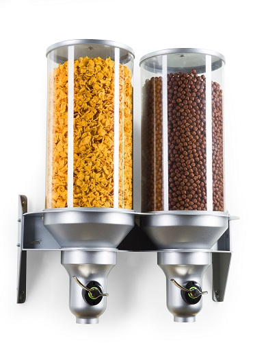 H400-FF | Idm | Dispenser | Dry Food | Dog Food | Cereal | Free Flow | Wall Mounted