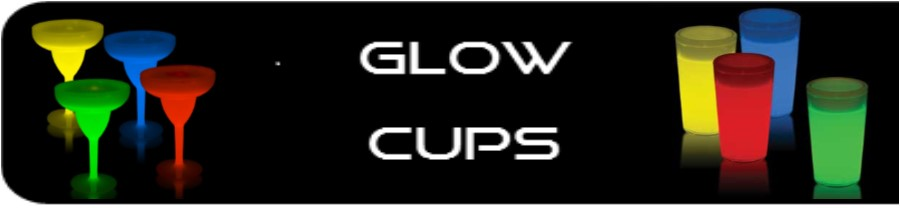Qec Distribution offers a range of glow cups.  Highball, Shot, Champagne, Margarita