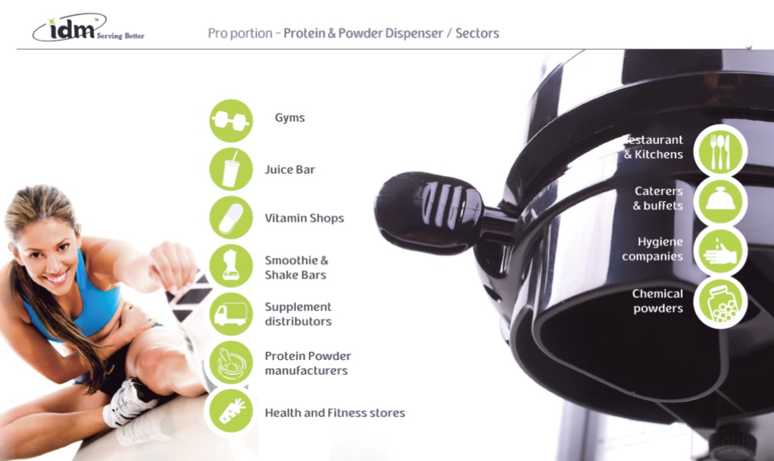 Protein Dispenser | Gyms | Juice Bars | Supplement Distributors