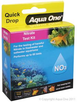 Aqua One Quick Drop Test Kit - Nitrite NO3 (92055)