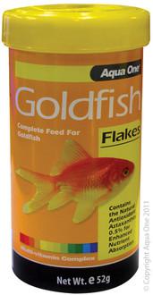 Aqua One Goldfish Flakes 52g (11552)