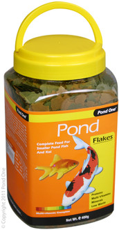 Pond One Flake Food 400g (26581)