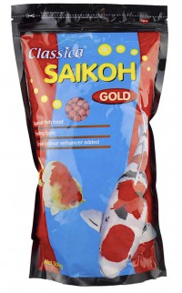Saikoh Colour Goldfish & Koi Pellet Large - 500gm