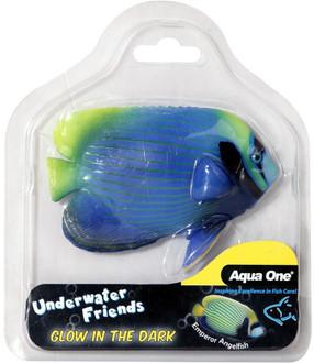 Aqua One Underwater Friends Emperor Anglefish Glow In Dark (37144)