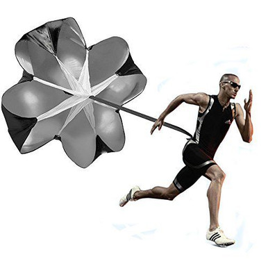 The Speed Chute allows you to maximize acceleration and top end speed through progressive resistance and overspeed training. The resistance allows you to improve stride length and frequency.