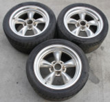 1993-2002 Camaro/Trans Am American Racing Polished 17x9 Torque Thrust Wheels, 3 USED