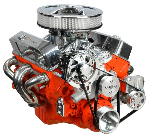 Camaro/Firebird 82-92 Concept One SBC Pulley System, Basic Kit with Power Steering & Alternator ...